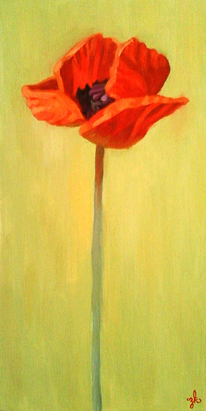 Botanical Series: The Poppy leads