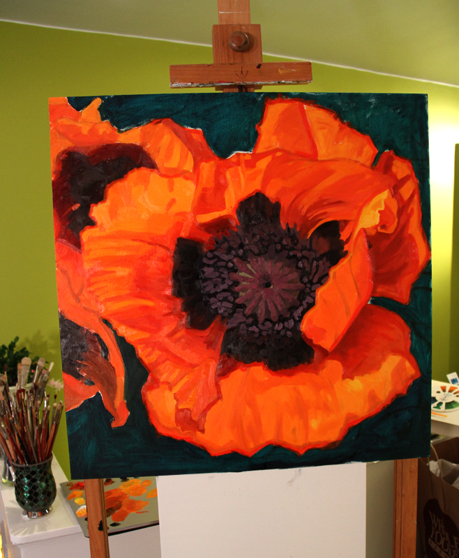 Poppy progress